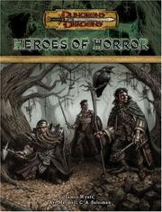 Dungeons and Dragons 3.5 ed: Heroes of Horror - Used