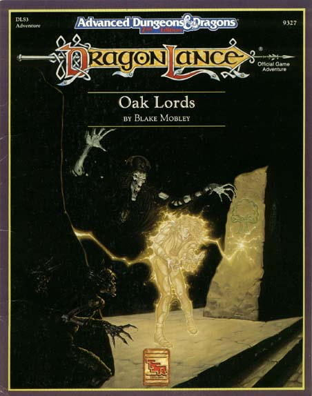 Dungeons and Dragons 2nd ed: DragonLance: Oak Lords - Used
