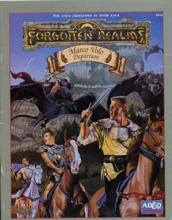 Dungeons and Dragons 2nd ed: Forgotten Realms: Marco Volo Departure - Used