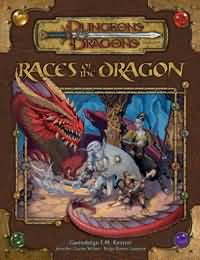 Dungeons and Dragons 3.5 ed: Races of The Dragon - Used