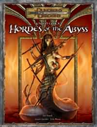Dungeons and Dragons 3.5 ed: Hordes of the Abyss - USED