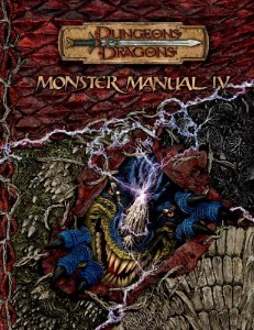 Dungeons and Dragons 3.5 ed: Monster Manual IV - Used