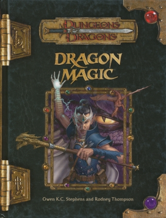 Dungeons and Dragons 3.5 ed: Dragon Magic - Used
