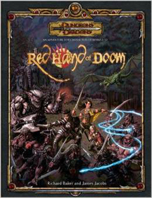 Dungeons and Dragons 3.5 ed: Red Hand of Doom - Used