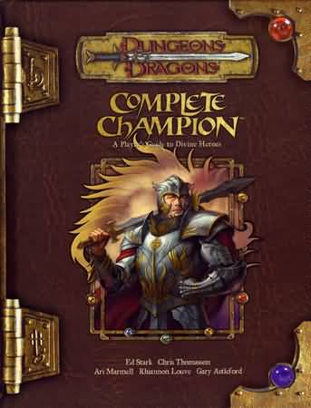 Dungeons and Dragons 3.5 ed: Complete Champion - Used