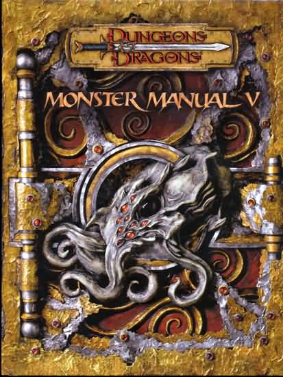 Dungeons and Dragons 3.5 ed: Monster Manual V - Used