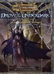 Dungeons and Dragons 3.5 ed: Drow of the Underdark - Used