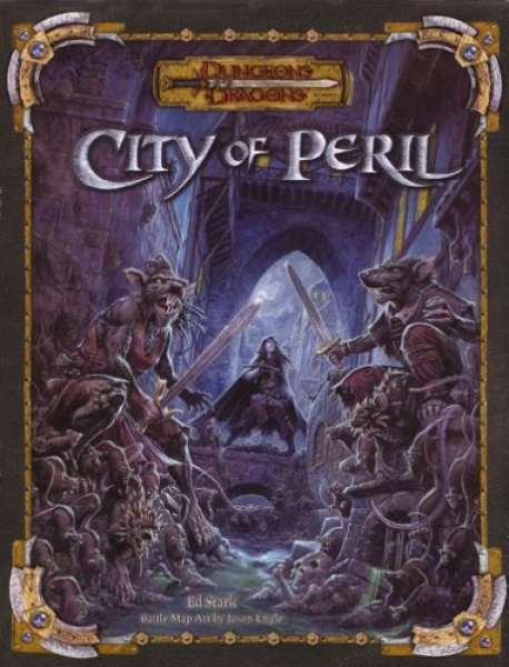Dungeons and Dragons 3.5 ed: City of Peril