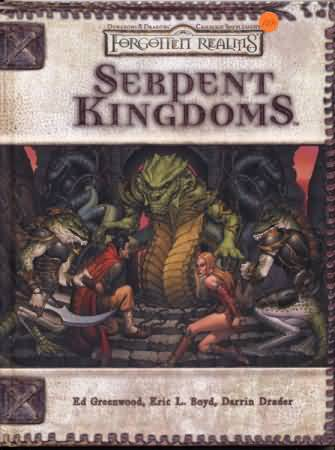 Dungeons and Dragons 3.5 ed: Forgotten Realms: Serpent Kingdoms - Used