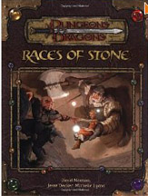Dungeons and Dragons 3.5 ed: Races of Stone - Used
