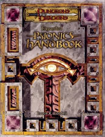 Dungeons and Dragons 3.5 ed: Expanded Psionics Handbook - Used