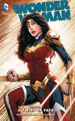 Wonder Woman: Volume 8: Twist of Fate HC - Used