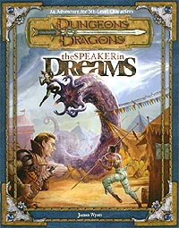 Dungeons and Dragons 3rd ed: The Speaker in Dreams - Used