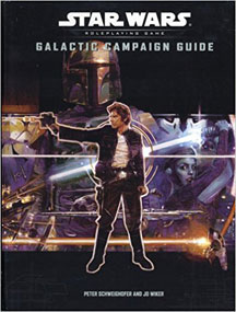 Star Wars Role Playing Game: Galactic Campaign Guide HC - USED
