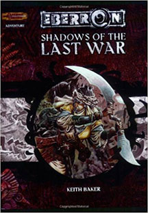 Dungeons and Dragons 3.5 ed: Eberron: Shadows of the Last War