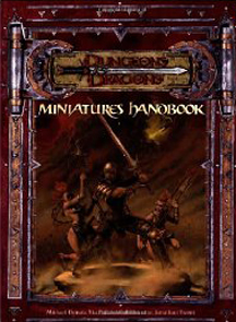 Dungeons and Dragons 3rd ed: Miniatures Handbook - Used
