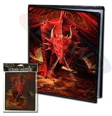 4 Pocket Portfolio - Wrath of Dragons - 7030dgr