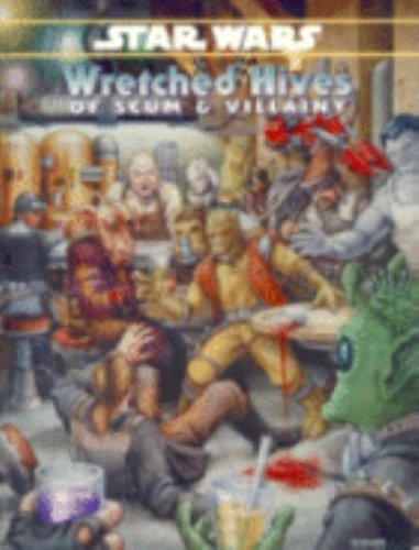 Star Wars: Wretched Hives of Scum and Villainy - USED