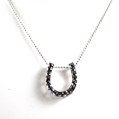 Jet Hematite Necklace