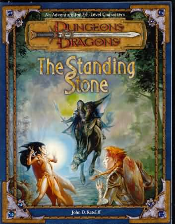 Dungeons and Dragons 3rd ed: The Standing Stone - USED