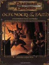 Dungeons and Dragons 3rd ed: Defenders of the Faith - Used