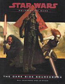 Star Wars Role Playing Game: The Dark Side Sourcebook - Used