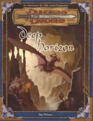 Dungeons and Dragons 3rd ed: Deep Horizon - Used