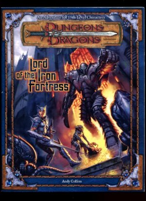 Dungeons and Dragons 3rd ed: Lord of the Iron Fortress - USED
