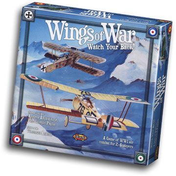 Wings of War: Watch Your Back - USED - By Seller No: 15183 Steven Smith