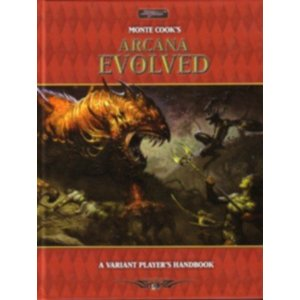 Monte Cooks Arcana Evolved: a Variant Players Handbook: Hard Cover - Used