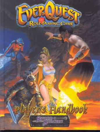 Ever Quest Role Playing Game: Players Handbook - Used
