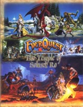 EverQuest Role Playing: The Temple of Solusek Ro and GM Screen - Used