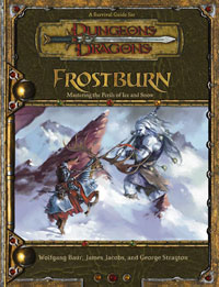 Dungeons and Dragons 3.5 ed: Frostburn - Used