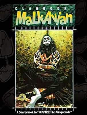 Clanbook: Malkavian 1st ed - Used