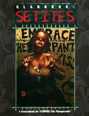 Vampire the Masquerade: Clanbook: Setites 2060 - Used