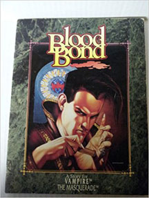 Vampire the Masquerade: Blood Bond - Used