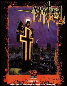 Vampire the Masquerade: Montreal by Night Role Playing - Used
