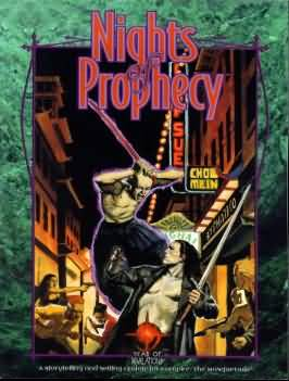 Vampire the Masquerade: Nights of Prophecy - Used