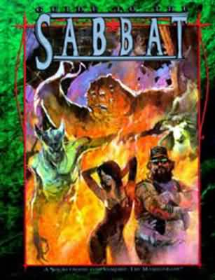 Vampire the Masquerade: Guide to the Sabbat Hard Cover - Used