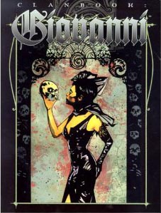 Vampire the Masquerade: Clanbook: Giovanni 2nd ed: 2363 - Used