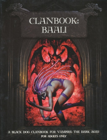 Vampire the Masquerade 2nd: Clanbook: Baali - Used