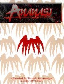 Werewolf: the Apocalypse: Ananasi - Used