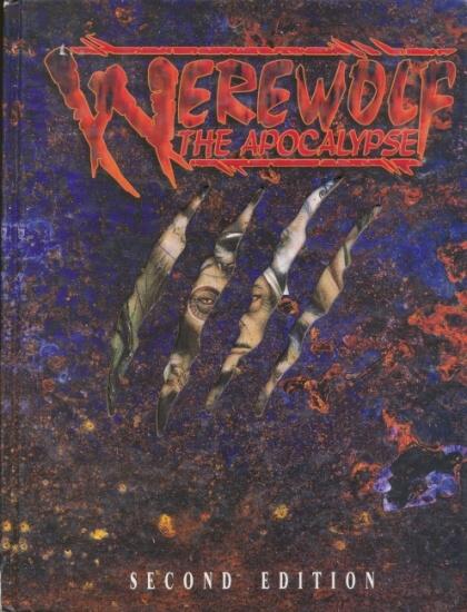 Werewolf: The Apocalypse 2nd ed HC - Used