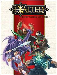 Exalted 2nd ed: Storytellers Companion - Used