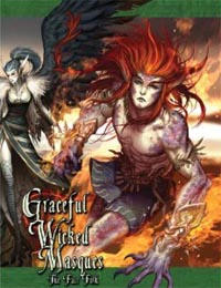 Exalted 2nd ed: Graceful Wicked Masques: the Fair Folk: 80003 - Used