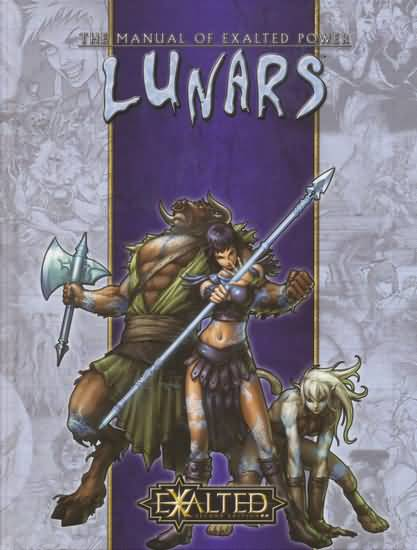 Exalted 2nd ed: Lunars - Used