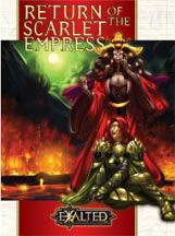 Exalted 2nd ed: Return of the Scarlet Empress - Used