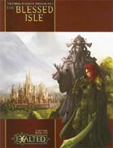 Exalted 2nd ed: The Blessed Isle: The Compass of Celestial Directions, VOL I - Used