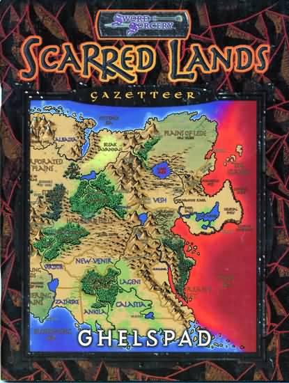 Scarred Lands Gazetteer: Ghelspad - Used