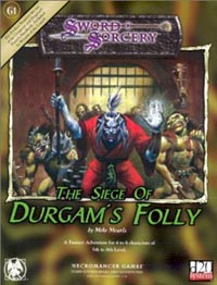 D20: Sword and Sorcery: The Siege of Durgams Folly - Used